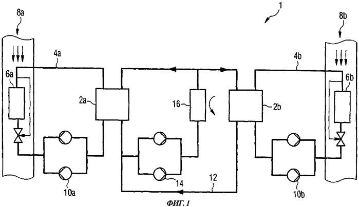 Резервная система охлаждения воздушного судна для охлаждения резервных компонентов воздушного судна