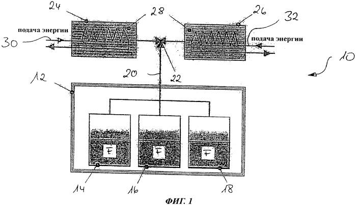 Система и способ охлаждения устройства на борту воздушного судна