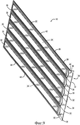 Система и способ упаковки режущих полотен