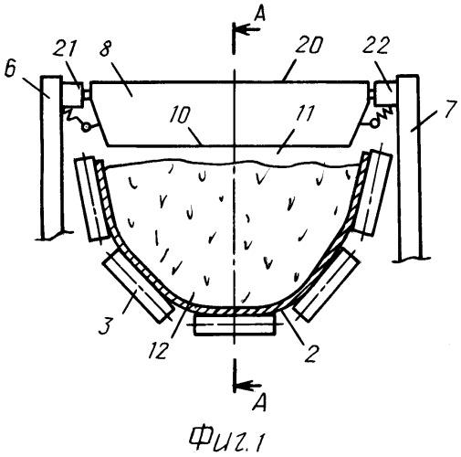 Ленточный конвейер для увеличенных углов наклона