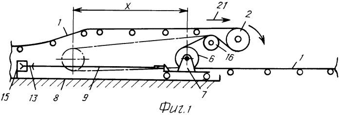 Промежуточный барабанный привод ленточного конвейера