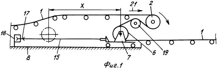 Промежуточный двухбарабанный привод ленточного конвейера