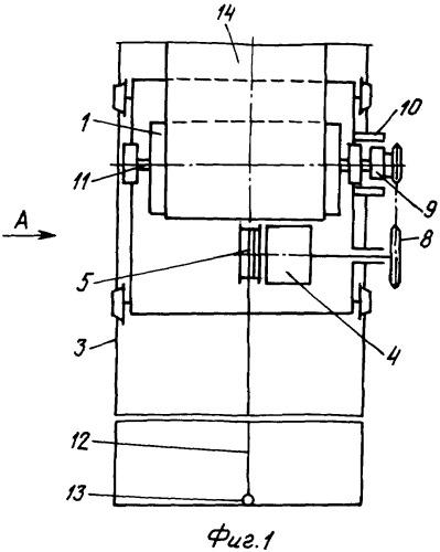 Натяжное устройство ленточного конвейера