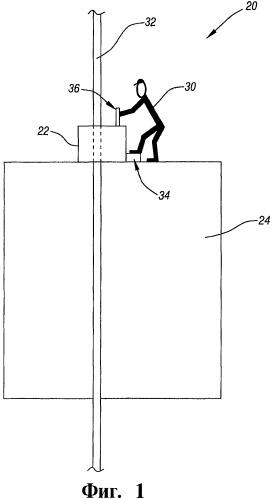 Устройство ручного регулирования вертикального перемещения протяженного элемента