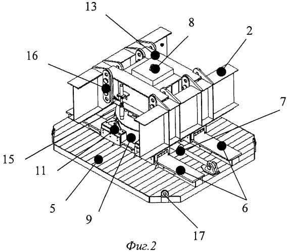 Домкратная опора для системы перемещения вышечно-лебедочного блока буровой установки и система перемещения вышечно-лебедочного блока буровой установки