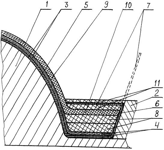 Способ изготовления сферической заглушки с фланцем для сопла ракетного двигателя