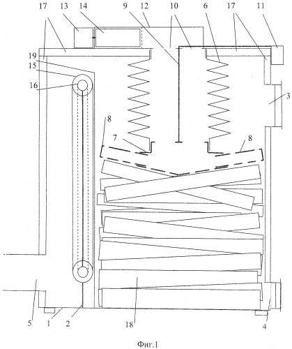 Способ сжигания твердого топлива и отопительный прибор для его осуществления