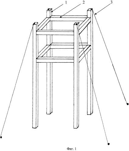 Способ и устройство для экспонирования контейнеров для сбора сухих аэрозолей на безлесных территориях