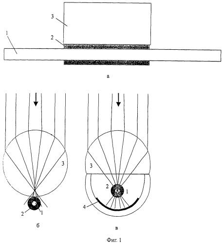 Волоконный датчик искры и электрической дуги