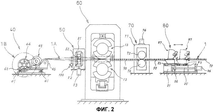 Способ и устройство для изготовления сепаратора, используемого в полимерэлектролитном топливном элементе