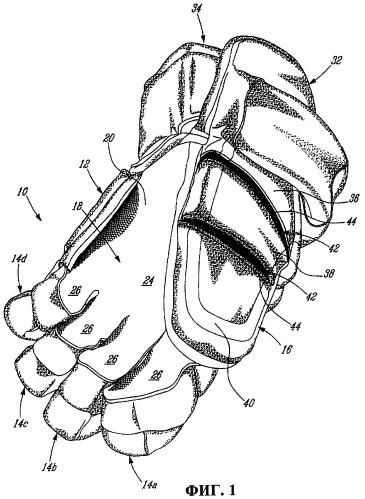 Защитные перчатки с большим пальцем, близким по форме к естественному