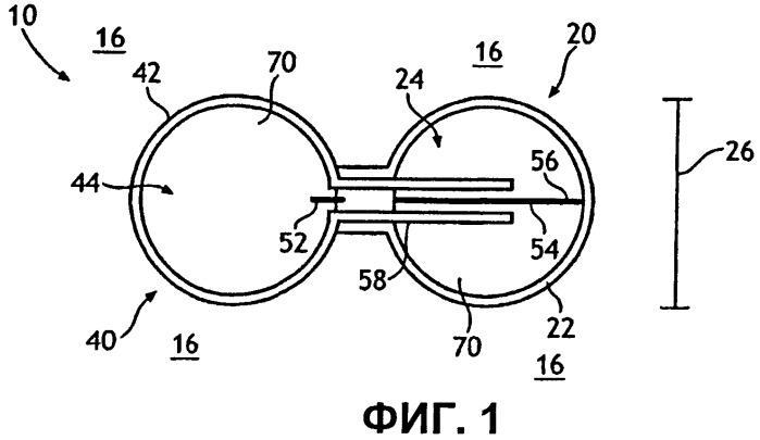 Самоподгоняющееся устройство для помещения в ушном канале