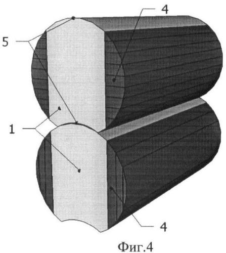 Клееное оцилиндрованное бревно и способ его изготовления