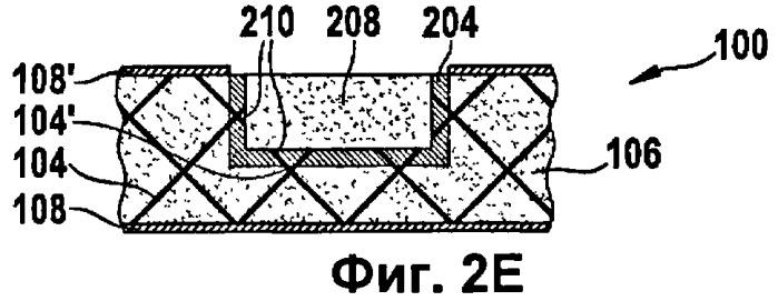 Местная обработка армированных пенопластов и слоистое изделие