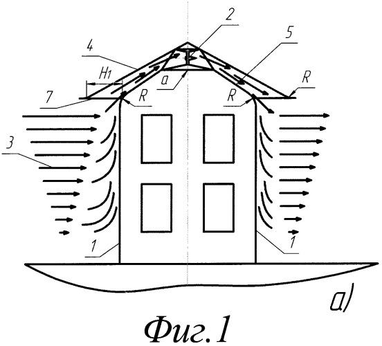 Способ и устройство для производства энергии с использованием архитектурных сооружений