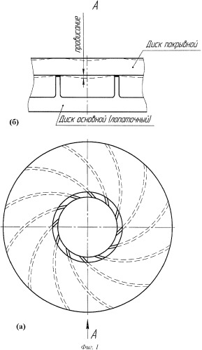 Способ изготовления рабочих колес центробежных копрессоров