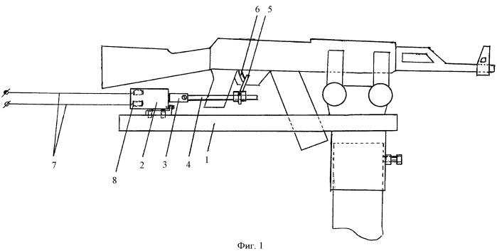 Стрелковое оружие с дистанционным управлением стрельбы