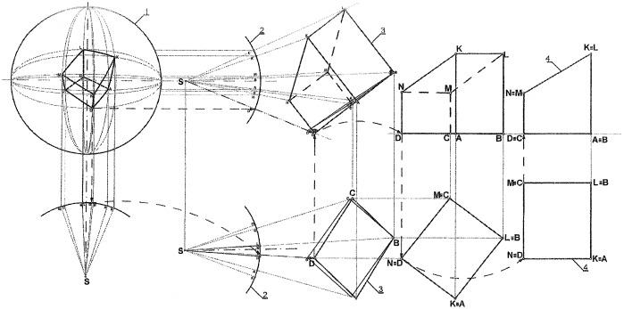 Способ распознавания геометрически организованных объектов