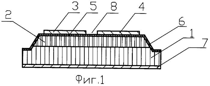 Тонкопленочный конденсатор для поверхностного монтажа в несимметричные полосковые линии