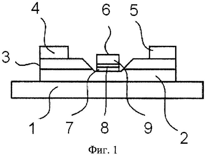 Транзистор на основе полупроводникового соединения и способ его изготовления