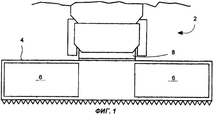 Устройство для натяжения ленты жатки комбайна или уборочной машины