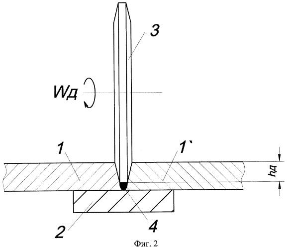 Способ комбинированной фрикционно-дуговой сварки