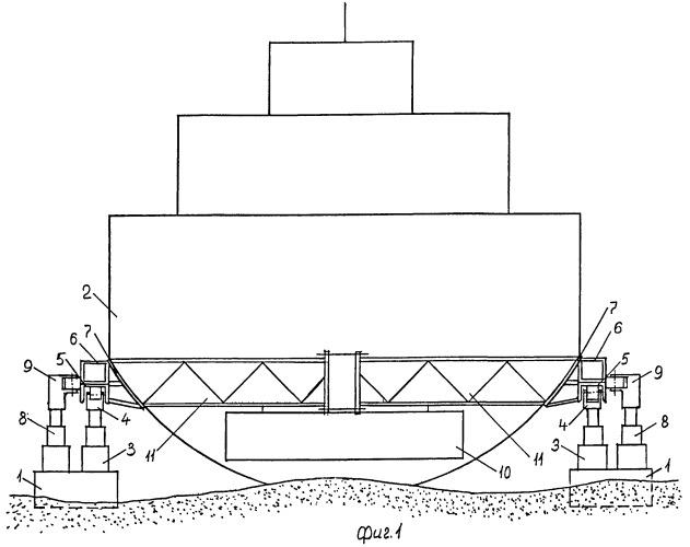 Способ (варианты) и устройство снятия судна с мели