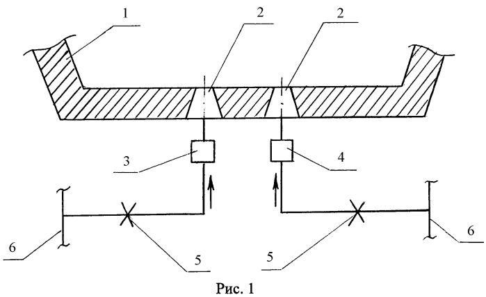 Способ продувки металла в сталеразливочном ковше