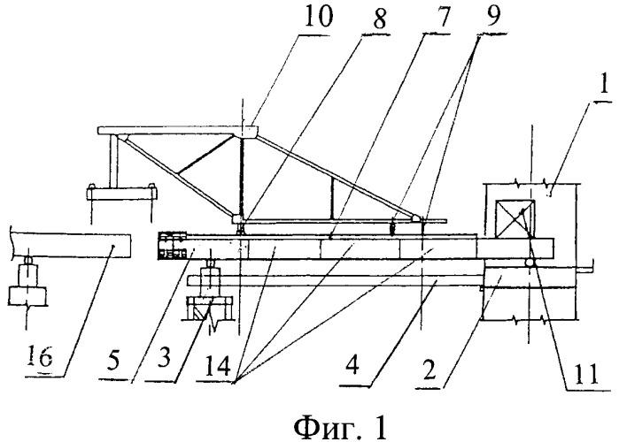 Способ возведения базового надопорного участка балки жесткости пролетного строения вантового моста и лидерная балка для осуществления этого способа