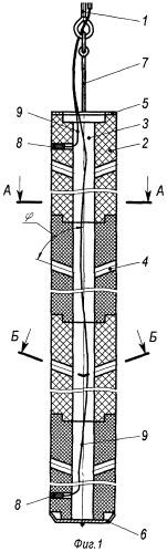 Пороховой канальный генератор давления