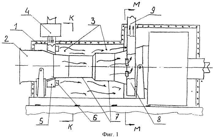 Устройство для охлаждения газотурбинной установки