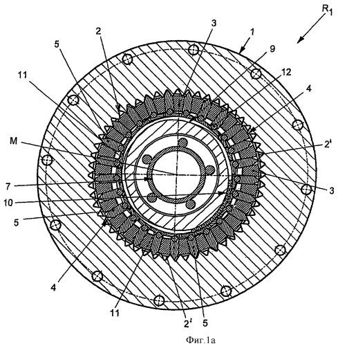 Соосная передача, в частности передача с полым валом для промышленной приводной техники