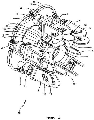 Соединительное устройство для загрузочного рукава морского нефтяного причала