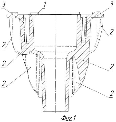 Радиатор для светодиодной лампы
