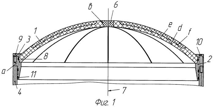 Разрушаемая крышка пусковой трубы