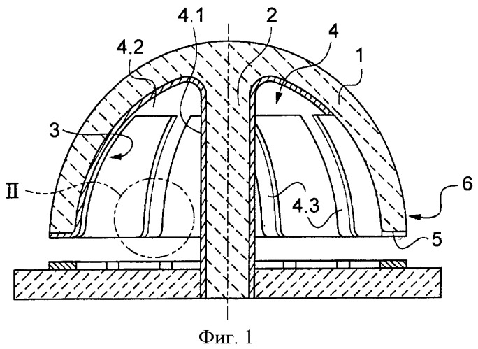 Резонатор для датчика углового параметра