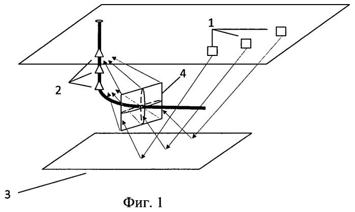Способ определения геометрических характеристик трещины гидроразрыва