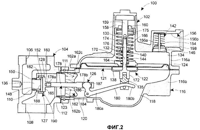 Регулируемый дисковый механизм для газового регулятора