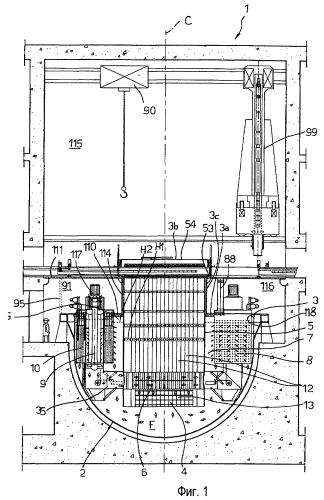 Ядерный реактор, в частности, бассейнового типа с топливными элементами новой концепции