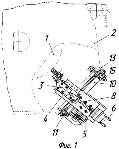 Устройство для обработки коллектора электродвигателя