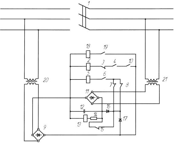 Устройство управления и защиты электрооборудования