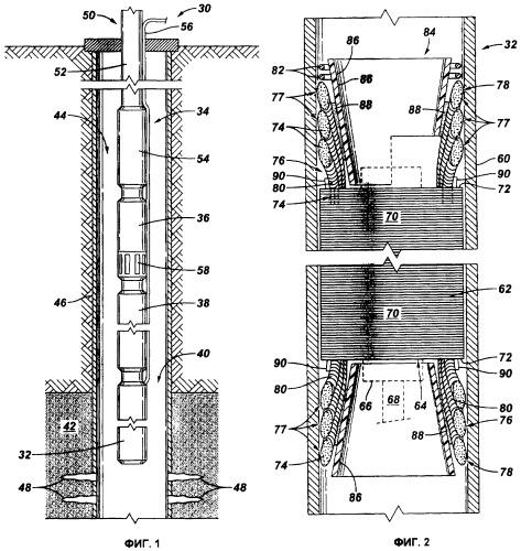 Система и способ для защиты обмотки погружного электродвигателя