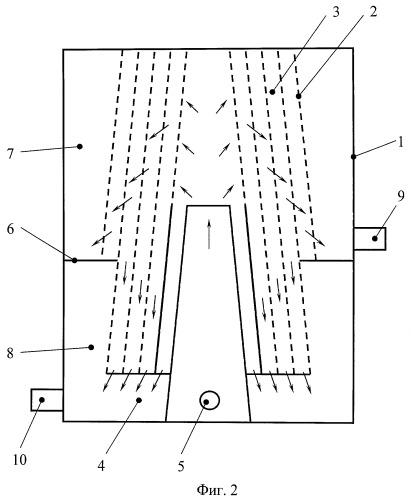 Способ разделения фаз полидисперсной системы и устройство для его осуществления