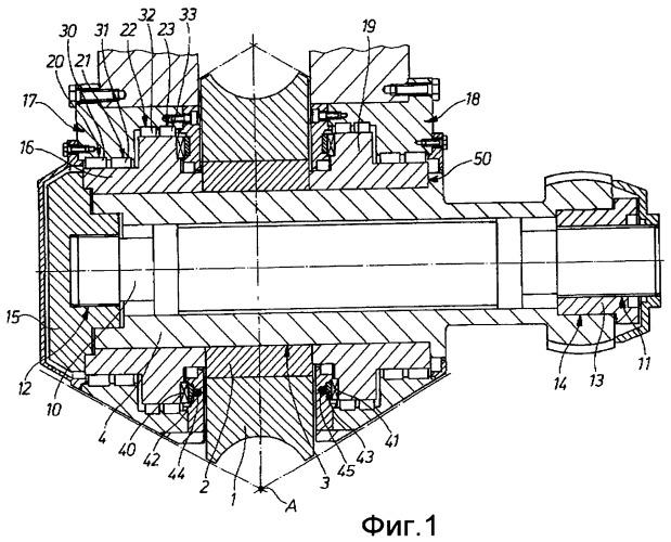 Устройство для прокатной клети, предназначенной для прокатки изделий в форме прутка или трубы, содержащее посадочное устройство для валка и валок