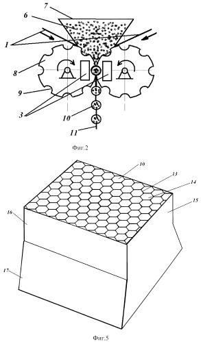 Способ изготовления прирабатываемого уплотнения турбины со столбчатой структурой