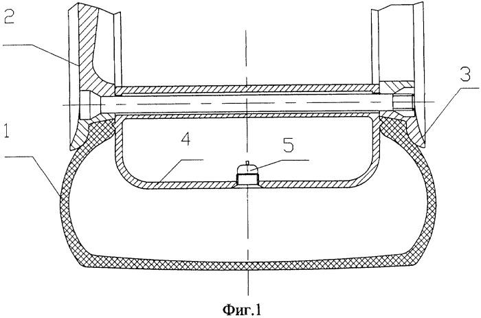 Колесо безопасности с системой подкачки шин