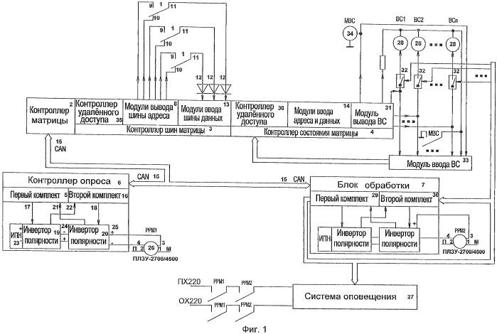 Устройство формирования напряжения питания определенной полярности с безопасным полярным элементом коммутации ответственных цепей