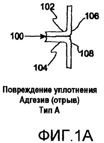 Отслаивающаяся запечатывающая структура (варианты), отслаивающееся уплотнение, упаковочная система