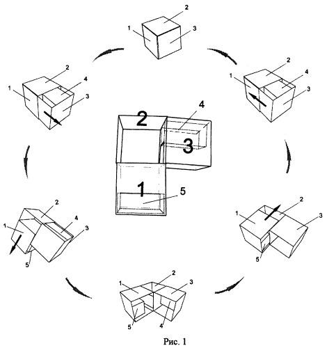Упаковка-трансформер и способ ее производства