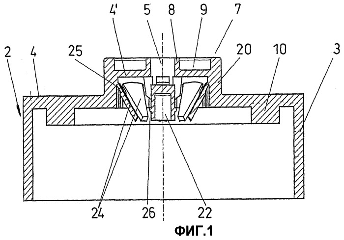 Укупорочный колпачок из полимерного материала